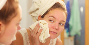 Lavandose la cara